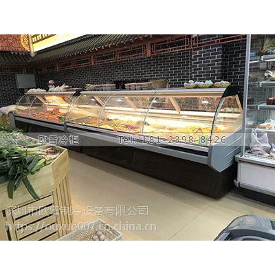 江西卤菜熟食柜有没有厂家直销