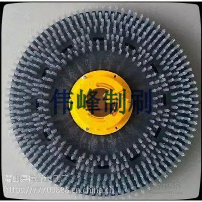 威霸VF1520单擦机刷盘 19寸威霸地毯刷 威霸单擦机19寸针盘