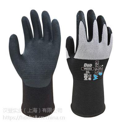 多给力WG-555工作手套耐磨抗油舒适灵巧透气保护防护手套作业