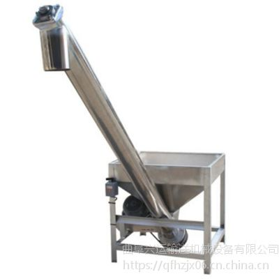 钙粉用不锈钢上料机 304,316L螺旋提升机定做