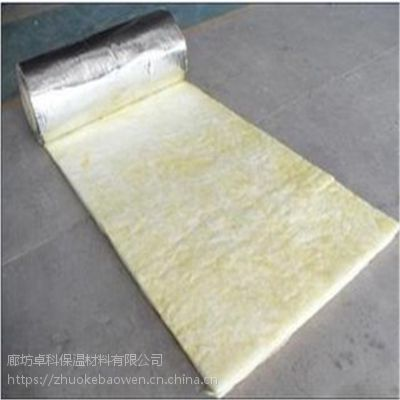玻璃棉卷毡诚信厂家 20kg钢结构用玻璃棉毡
