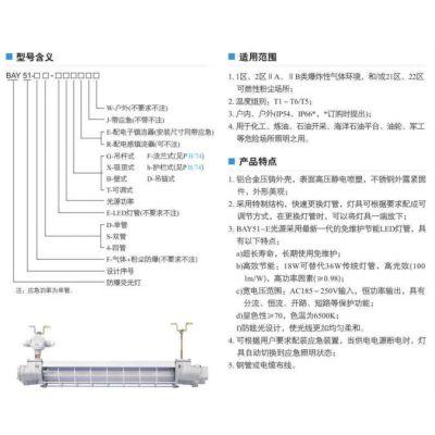 防爆荧光灯(高效节能LED灯管)生产厂家