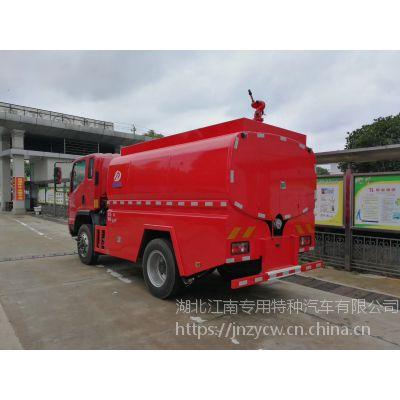 凯马JDF5100GPSKM5四驱消防车厂家 5立方水罐消防车价格
