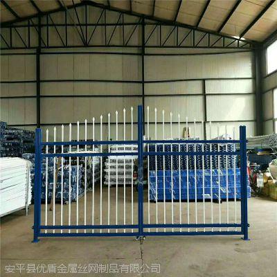 塑钢围墙栏杆 贵州围墙方管护栏多钱一米 铁艺栅栏生产厂家