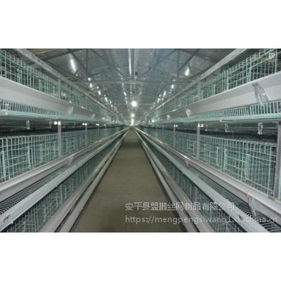 层叠式肉鸡笼养殖设备H型肉鸡笼框架式支架笼