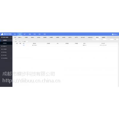 蝶步ERP+旅行社经营管理软件+团期控位软件