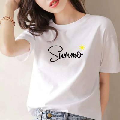 大量印花圆领T恤河南哪里有厂家***畅销T恤供应 便宜跑量夏季短袖男女T恤批发