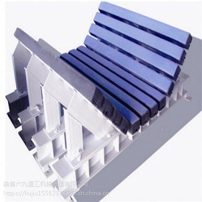 钢胶托辊型皮带机配件 化肥厂