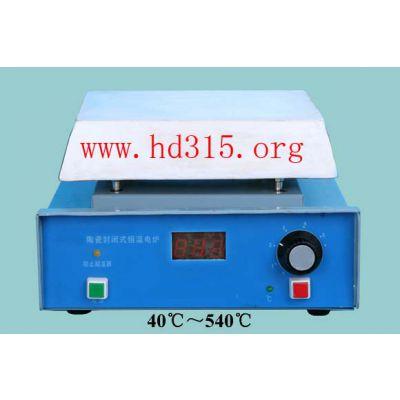 中西现货陶瓷封闭式恒温电炉 型号:XA80-18库号:M181198