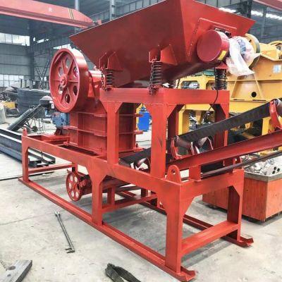 供应时产20-50吨简易式小型移动破碎站
