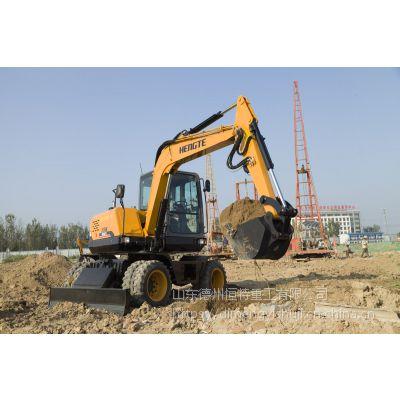 轮式挖掘机—挖掘机HT75W