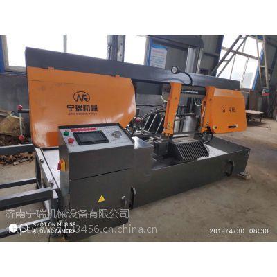 济南宁瑞机械专供龙门式数控带锯床GS-400高精度锯切质优价廉锯切各种钢材