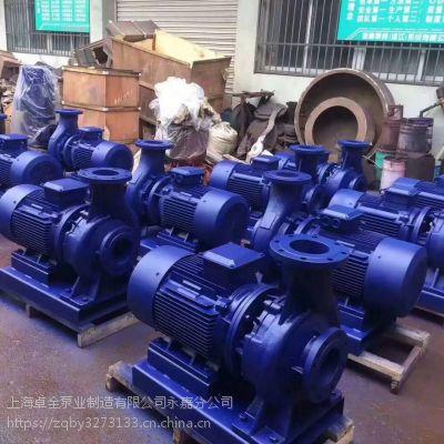 自吸泵ZW50-20-30排污泵的功率是多少