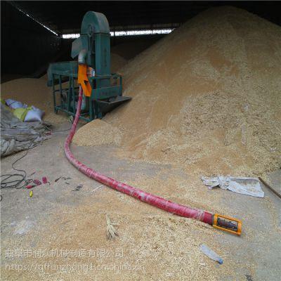 寿光菜籽软管吸料机 畜禽养殖饲料上料机 耐磨使用款吸粮机