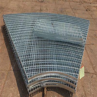 扇形钢格板 钢格板厚度 镀锌格栅板重量