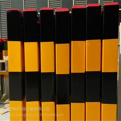 柱形公路道口警示桩/庆城公路道口警示桩图片