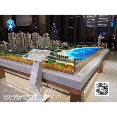 房地产动态区位图互动数字沙盘LED路面水面动态显示