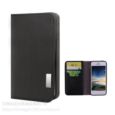 速卖通专供 PU皮革手机保护壳钱夹翻盖式5.5寸手机保护套广州工厂