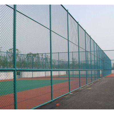 球场围网 篮球场护栏 包塑绿色铁丝网 球场围网定制 球场围网安装方法