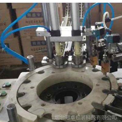 定制柜式提升分选机 自动化高效金属铝瓶盖生产设备 瓶盖制造设备