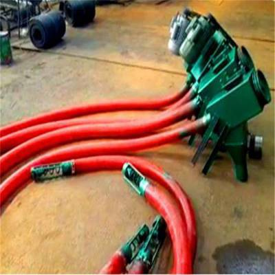 柴油气力输送机移动式 抽灰机