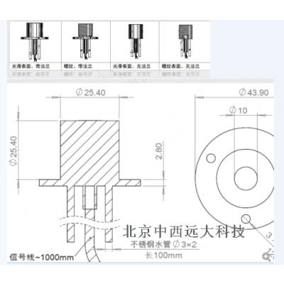 中西GD系列/S-B系列辐射热流传感器 型号:DF133-GD-SB库号:M198537