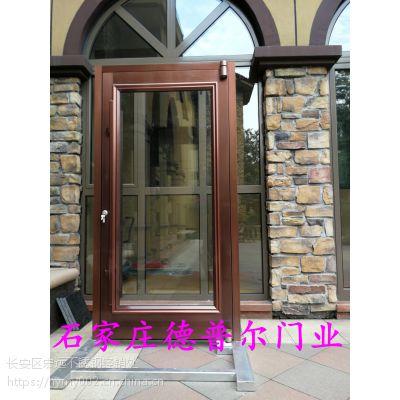 单扇肯德基门定做,单扇商铺门制作安装,单扇店面门设计,德普尔门业