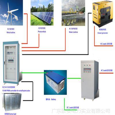 加工组装光伏发电,风力发电,水力发电,柴油发电等发电机控制柜