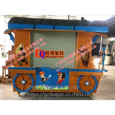 棉花糖美食小吃车 广场摊位亭 移动售货车 广州售货亭制作厂家