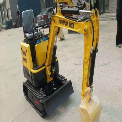 供应市政建设工程用挖掘机 轮式挖掘机 农用果园挖机微型小挖机