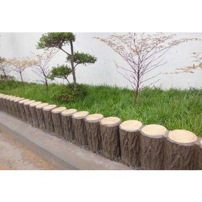 供应烟台景观工程水泥树桩石、花箱花桶厂家报价