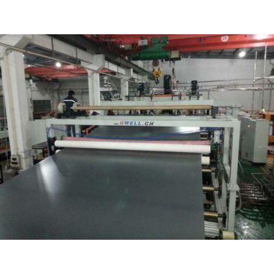 金韦尔PC PMMA GPPS PET塑料板材机组