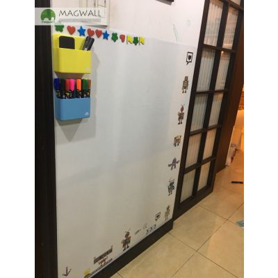 厂家定制磁善家创意自带背胶双层磁性壁纸