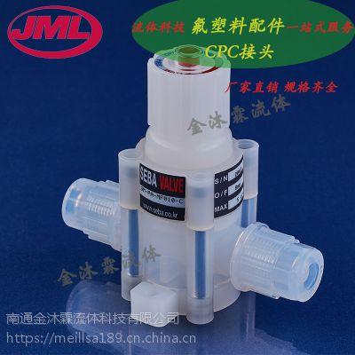供应PFA隔膜阀3/4 手动 气动隔膜阀