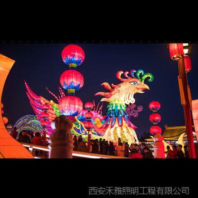 2019年酒泉春节节庆亮化照明工程设计、节庆亮化配套供应商
