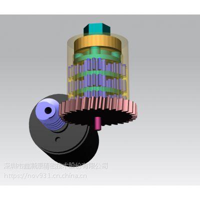 大扭力工具类齿轮箱定制设计与制造