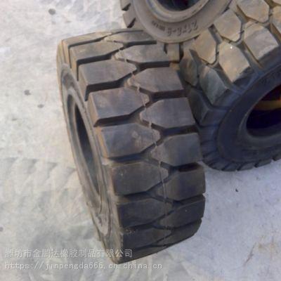 21x8-9全新叉车用实心轮胎型号大全 叉车实心胎哪家好