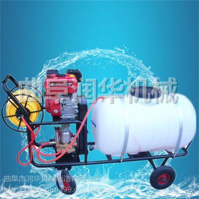 移动式高压喷雾器 环保除尘汽油打药机 麦田自走式喷雾机
