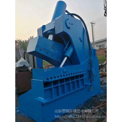 连云港市1米剪口的虎头剪切机 400吨液压虎头剪切机多少钱角钢槽钢液压切断机