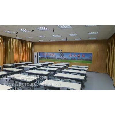 学校课桌椅HY-0336低价课桌椅供应商