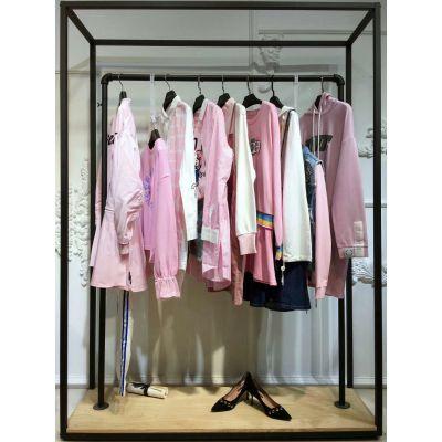 米丹阳女装上海品牌折扣店加盟东莞哪里有衣服尾货市场在哪里文艺纯棉外套