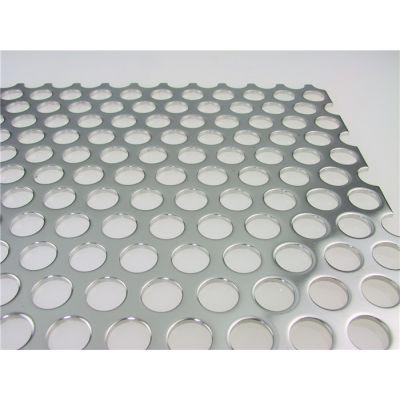 2.5mm冲孔铝板/圆孔多孔板/长腰孔网孔板加工厂家