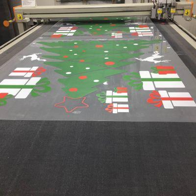 布吉定制UV超透贴纸 提升印刷品的视觉美感 UV彩白光油 汇美喷绘