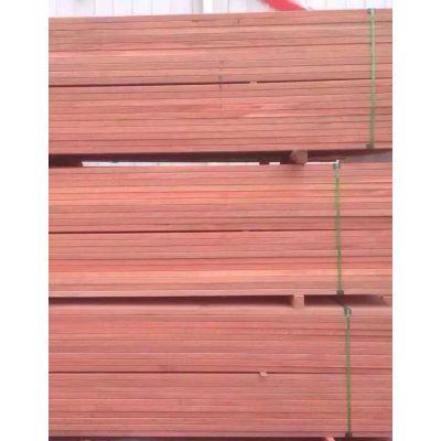 黄冈柳桉木防腐木拉丝地板价格