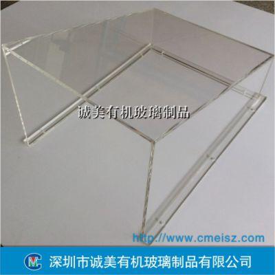 透明员工安全防护罩 亚克力机械外罩 深圳有机玻璃设备箱