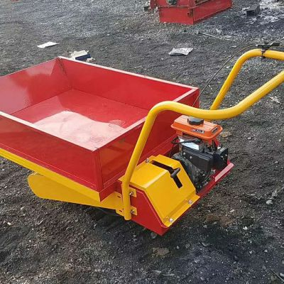 多功能卸货机汽油运输车机小型履带手推车卡博恩直供