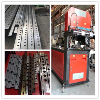 银江机械供应优质全自动数控液压冲孔设备 可冲不锈钢-锌钢-铝型材-园林护栏 伺服送料 品质保证