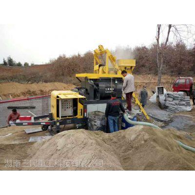搅拌拖泵浇筑路面有什么要求