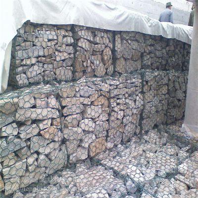 边坡石笼网 防洪格宾网箱 铅丝石笼网定做