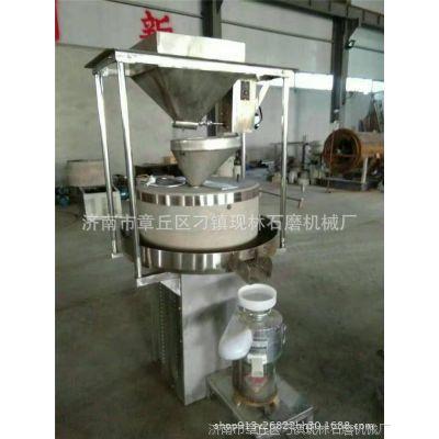 现林直销80商用豆花豆腐石磨机   豆腐食品加工设备
